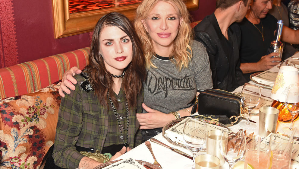 Frances Bean Cobain und Courtney Love