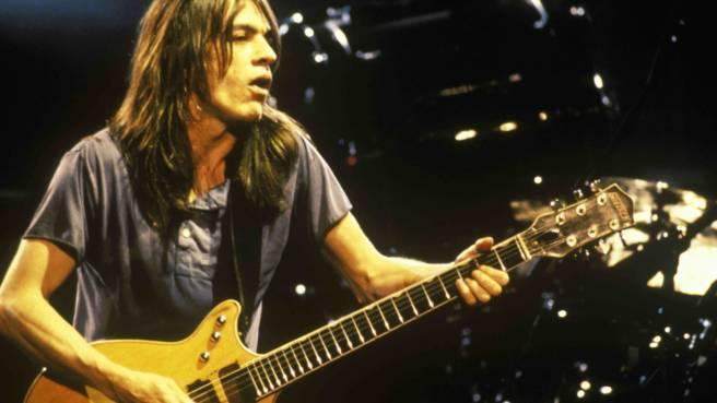 AC/DC: Malcolm Young auf der Bühne