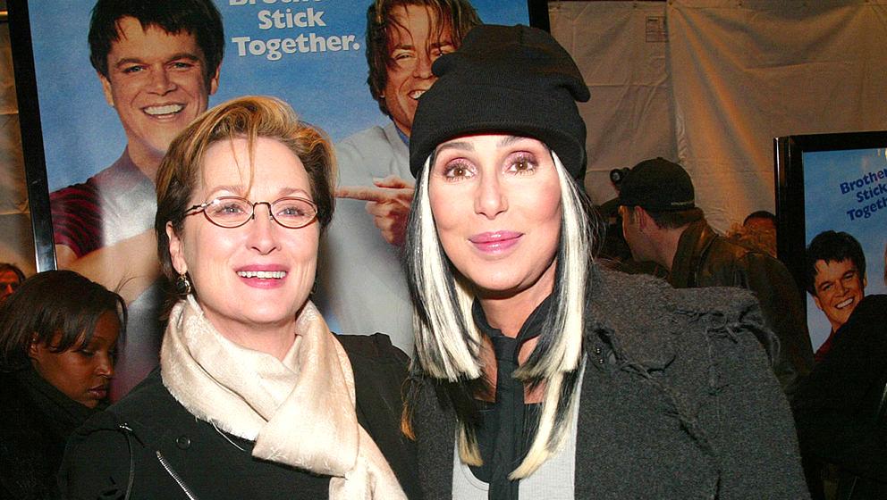 Meryl Streep und Cher gemeinsam im Jahr 2003