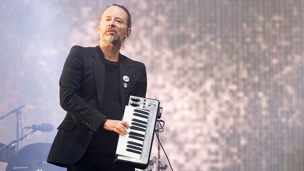 Spielt nicht nur Gitarre, sondern auch mal Keyboard: Thom Yorke von Radiohead