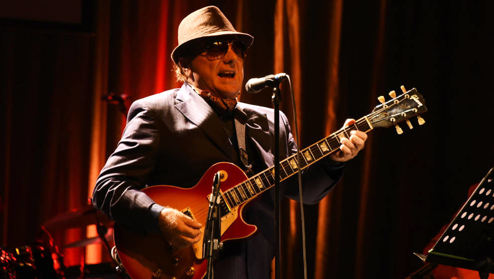 LONDON, ENGLAND - OCTOBER 28:  Van Morrison performs at Bill Wyman's 80th Birthday Gala as part of BluesFest London at Indigo