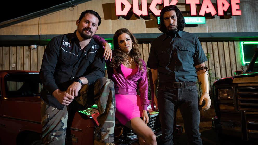 Die Logan-Geschwister Jimmy (Channing Tatum), Mellie (Riley Keough) und Clyde (Adam Driver) halten auch in schwierigen Zeiten