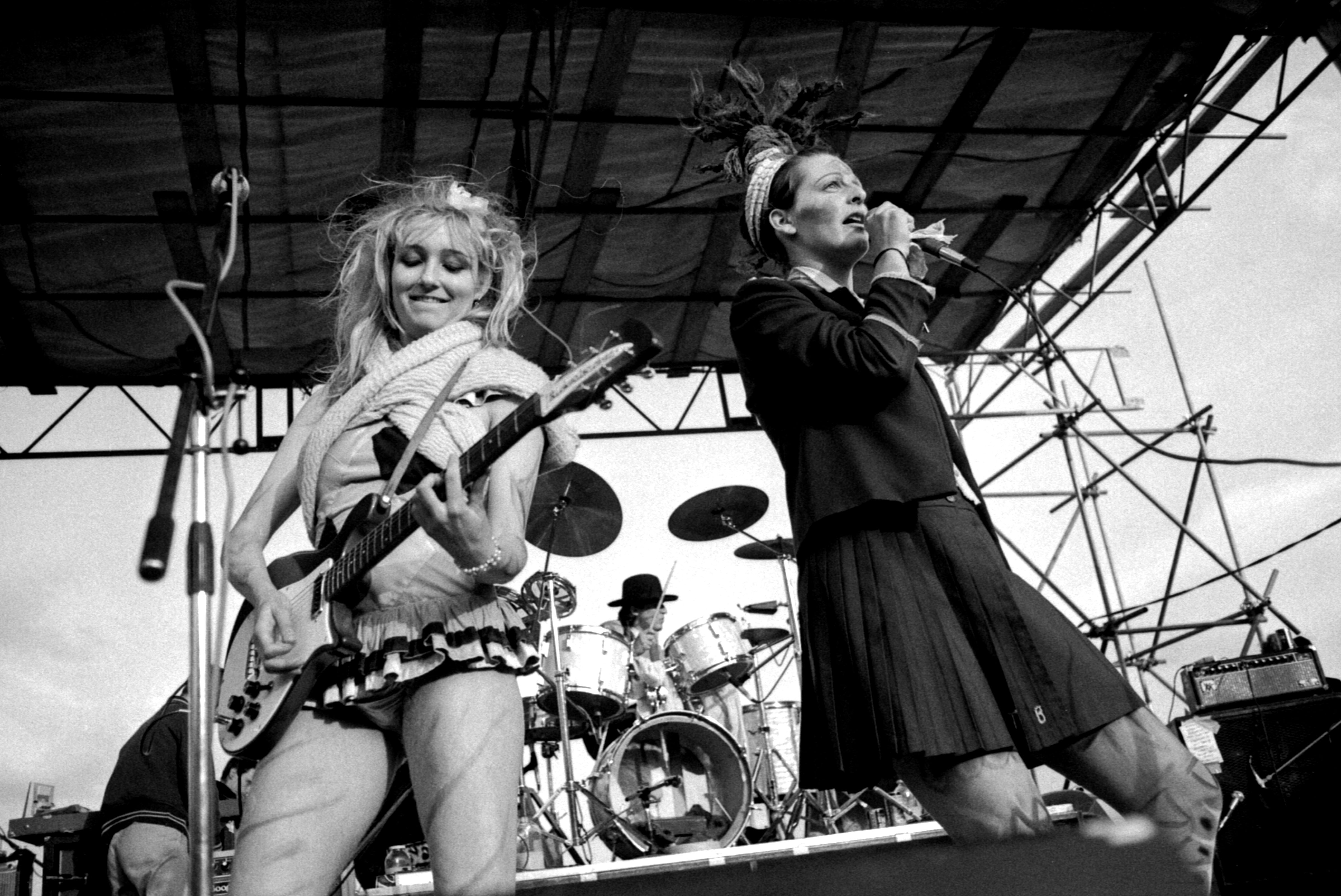 The Slits: Viv Albertine, Bruce Smith, Ari Up