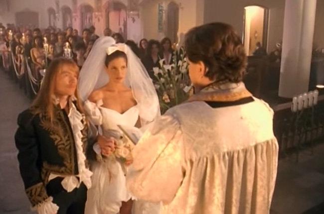 """Das berühmteste Hochzeitsvideo der Musikgeschichte: """"November Rain"""" von Guns N' Roses"""