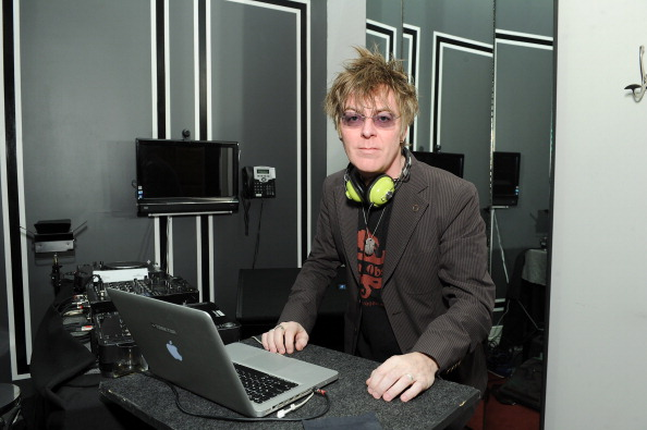 NEW YORK, NY - JANUARY 14:  Musician Andy Rourke of The Smiths DJs at the Glenlivet Cellar Collection Experience at Michael A