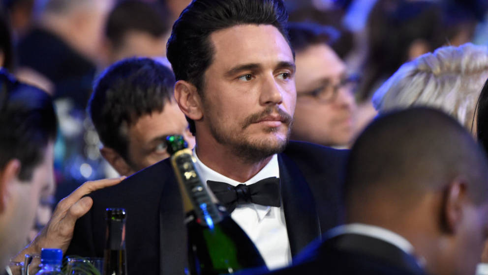 LOS ANGELES, CA - JANUARY 21:  Actor James Franco attends the 24th Annual Screen Actors Guild Awards at The Shrine Auditorium