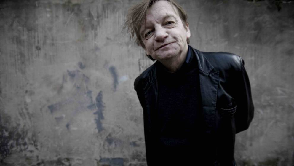 A portrait of Manchester musician Mark E Smith of The Fall, Salford, Manchester, 18th March 2011. (Photo by Kevin Cummins/Get