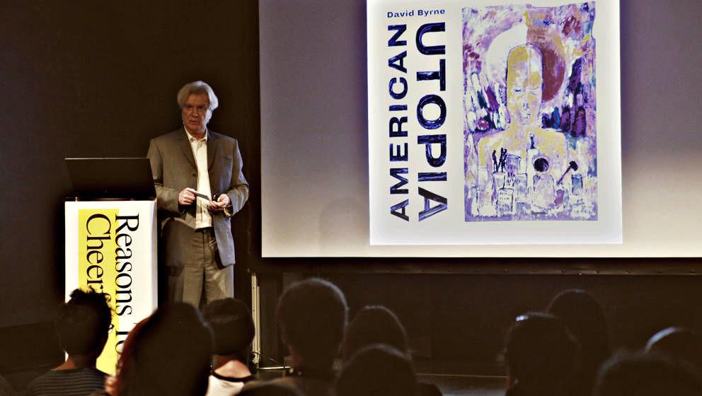 David Byrne beim ROLLING STONE Talk