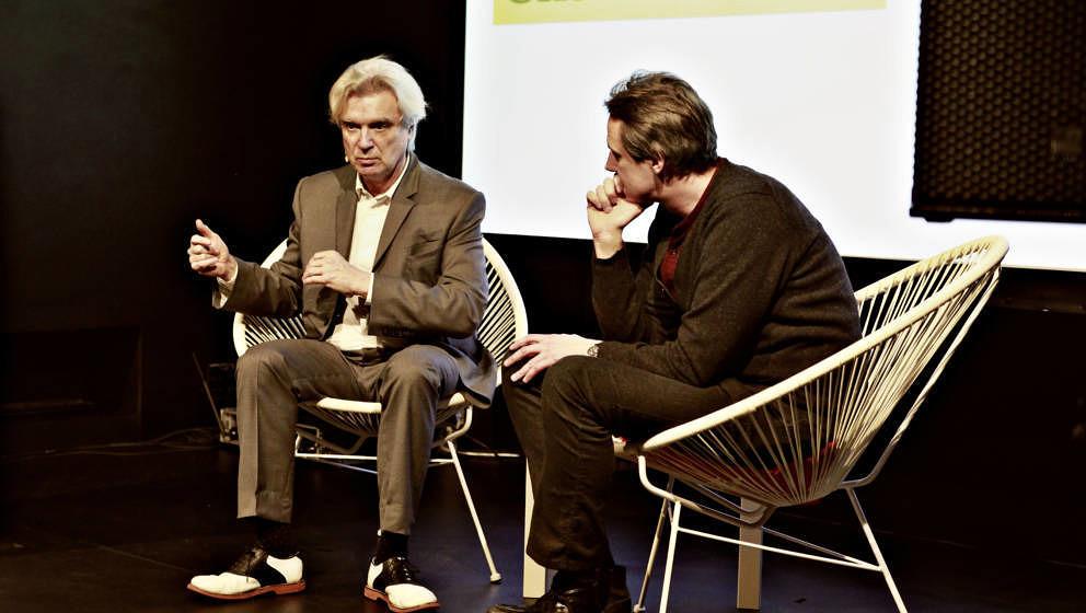 Byrne im Talk mit ROLLING-STONE-Redakteur Maik Brüggemeyer