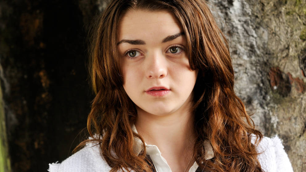 BATH, UNITED KINGDOM - MARCH 7: Portrait of English actress Maisie Williams, taken on March 7, 2013. Williams is best known f