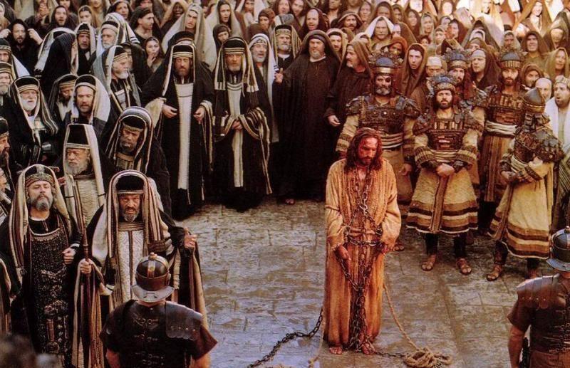 "Szene aus ""Die Passion Christi"""