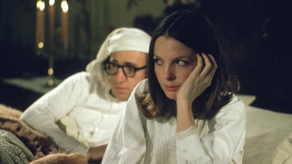 """Woody Allen und Diane Keaton kennen sich sehr gut, hier zu sehen am Set von """"Die letzte Nacht des Boris Gruschenko"""""""