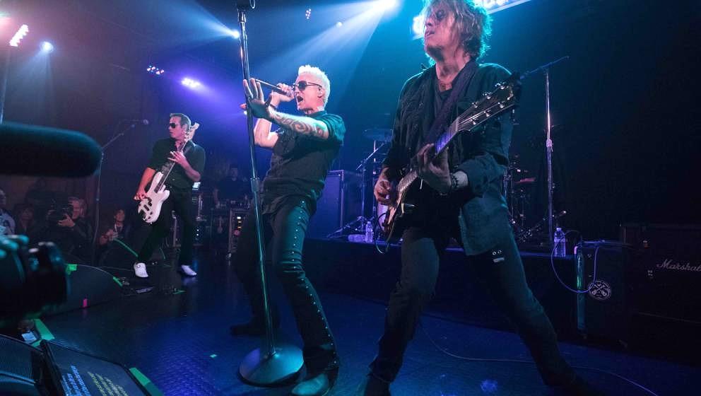 Stone Temple Pilots live: Robert DeLeo, Jeff Gutt und Dean DeLeo