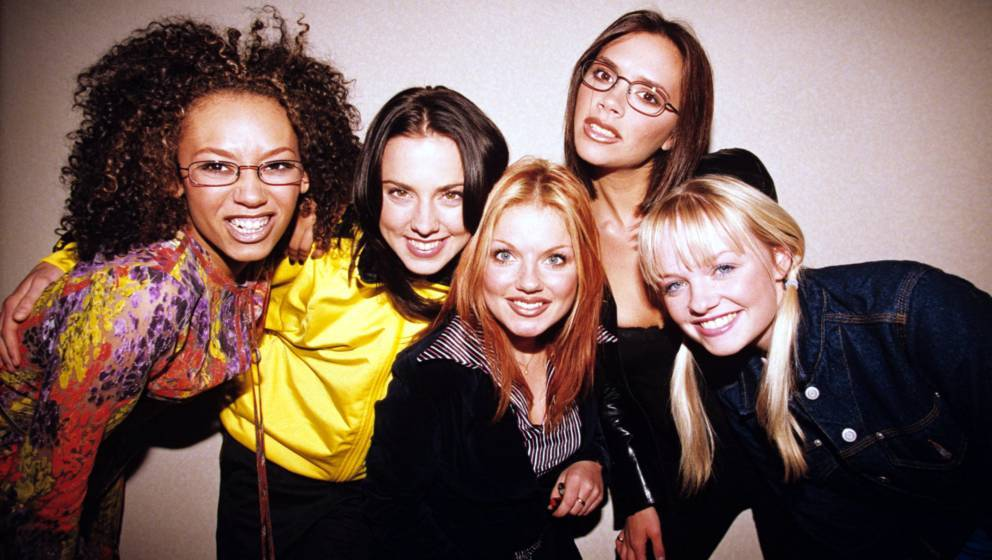 The Spice Girls - Melanie B, Melanie C, Geri Halliwell, Victoria Adams And Emma Bunton, The Spice Girls - Melanie B, Melanie