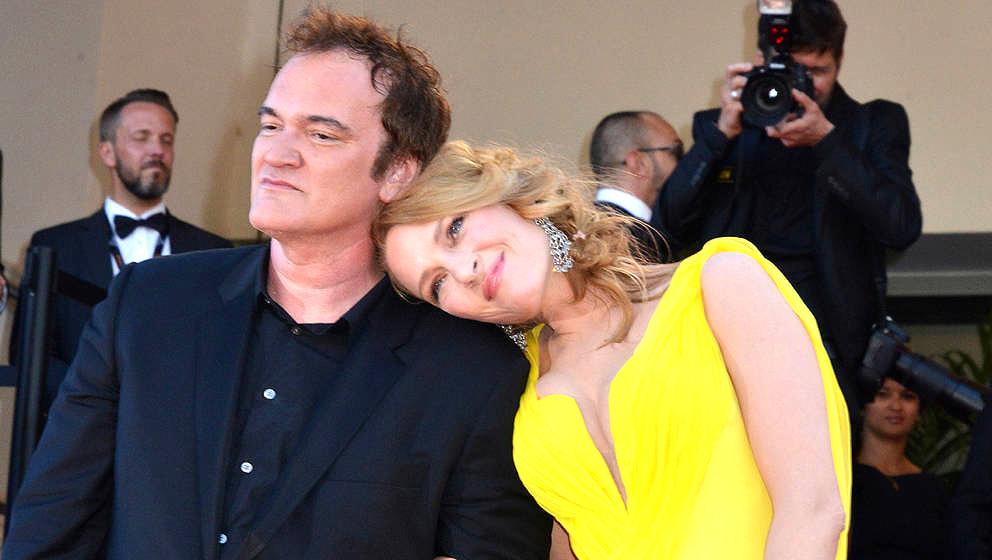 Wieder ein Herz und eine Seele: Quentin Tarantino und Uma Thurman im Jahr 2014