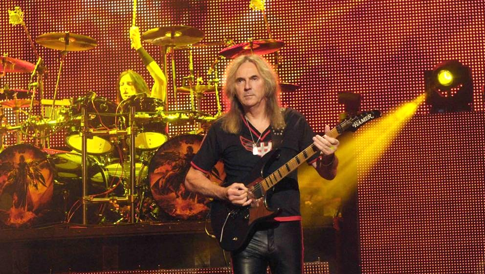 Glenn Tipton of Judas Priest performs at O2 Academy Brixton on December 1, 2015 in London, England.