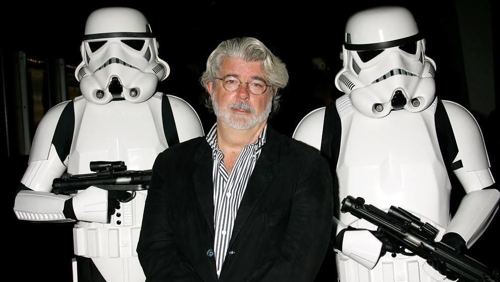 """George Lucas kann von seinen Figuren aus dem """"Star Wars""""-Universum nicht lassen"""