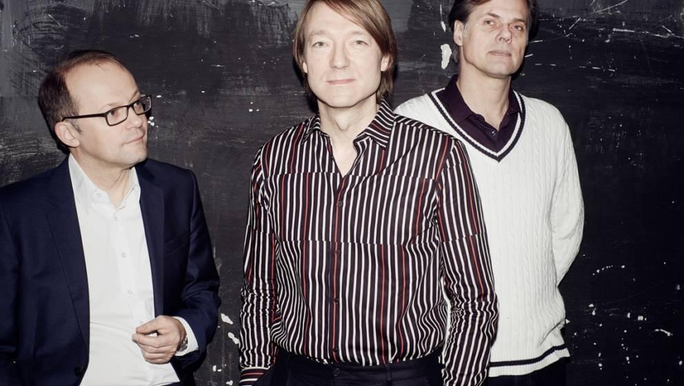 Blumfeld heute: André Rattay, Jochen Distelmeyer, Eike Bohlken