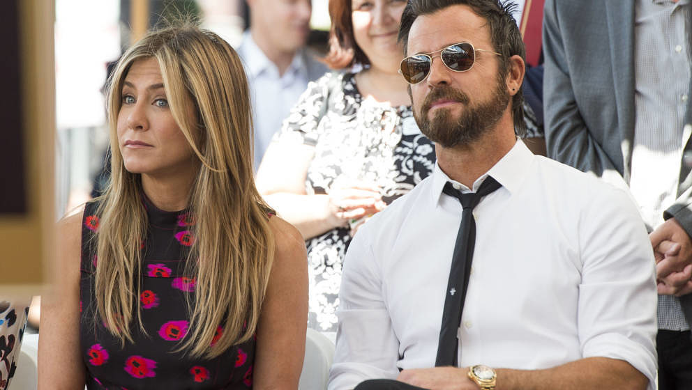 Haben sich Jennifer Aniston und Justin Theroux auseinander gelebt?