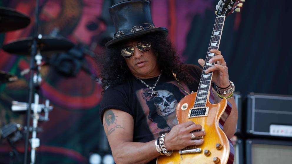 Slash gehört zu den besten Kunden von Gibson