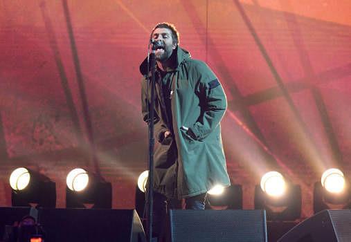 Liam Gallagher live bei den Brit Awards 2018
