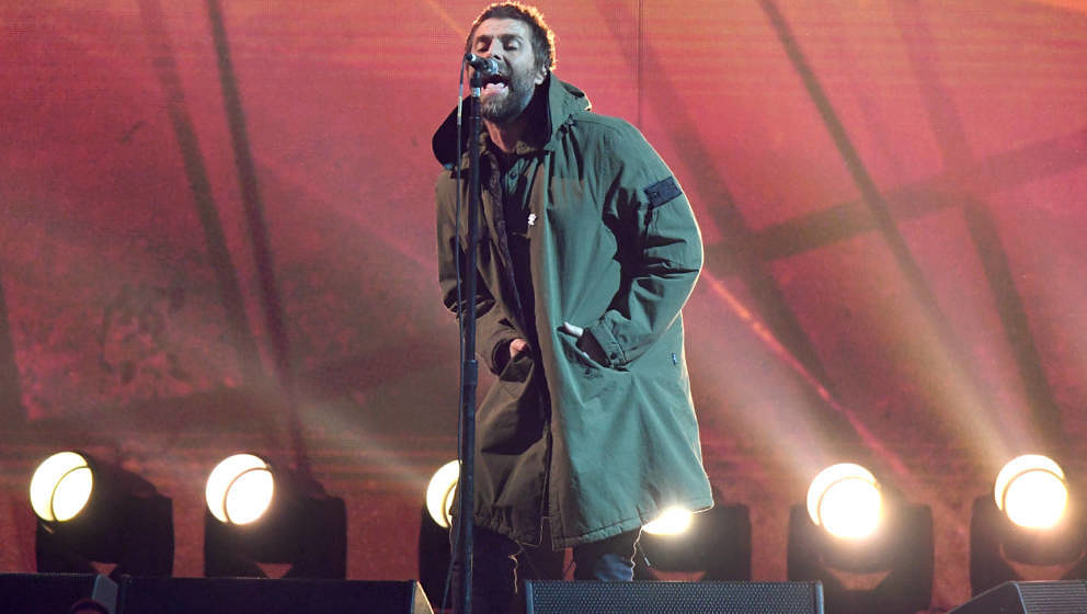 Liam Gallagher live bei den Brit Awards 2018