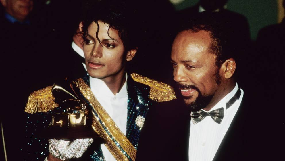 Michael Jackson und Quincy Jones