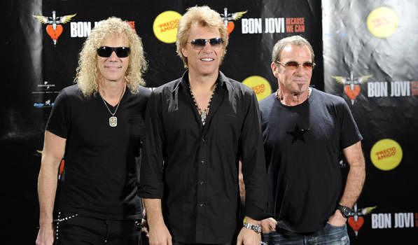 David Bryan, Jon Bon Jovi und Tico Torres