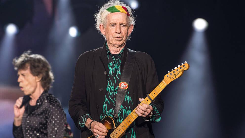 Keith Richards hat sich bei Mick Jagger entschuldigt.