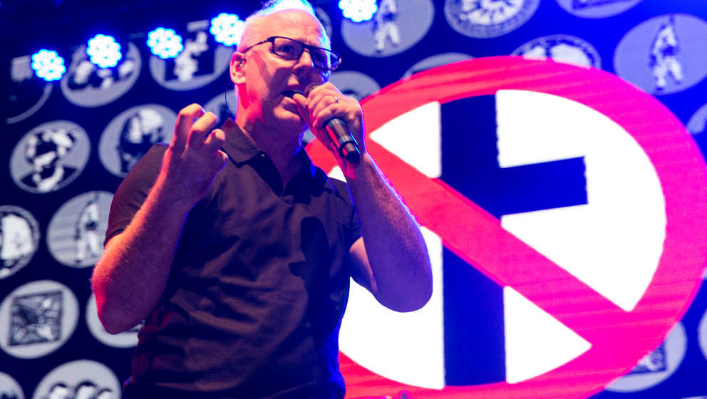 BLACKPOOL, ENGLAND - AUGUST 03:  Greg Graffin of Bad Religion performs at Rebellion Festival at Winter Gardens on August 3, 2