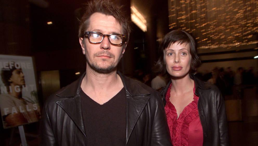 Gary Oldman mit seiner Ex-Frau Donya Fiorentino