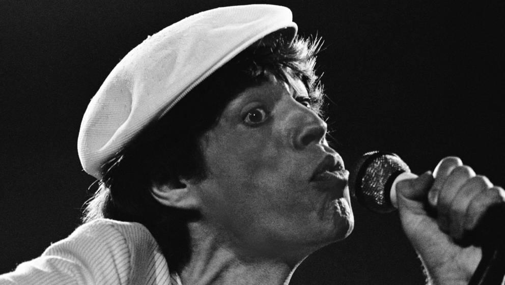 Mick Jagger von den Rolling Stones