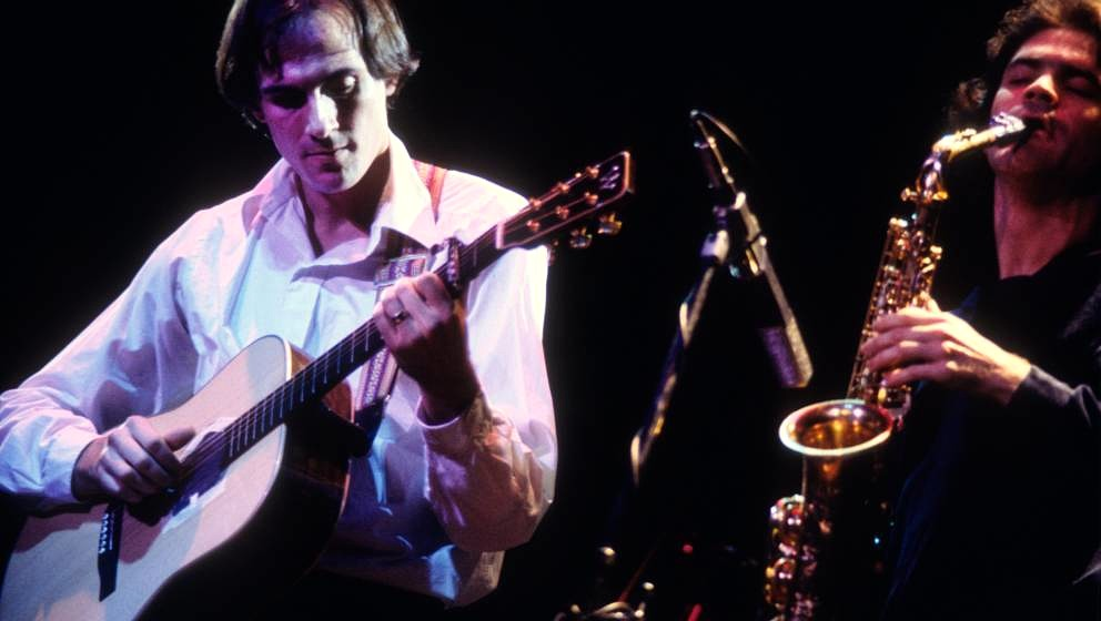 James Taylor spielt mit David Sanborn