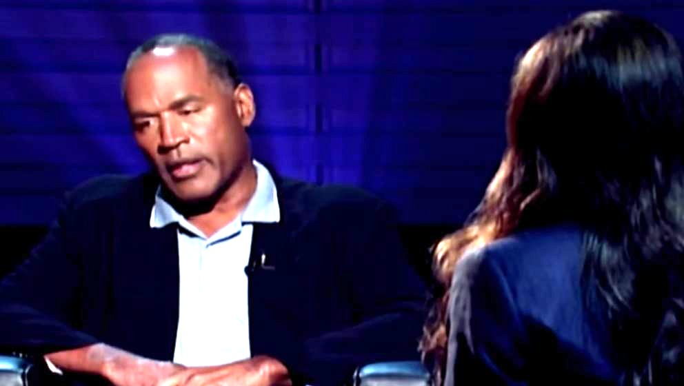 O.J. Simpson in dem Fox-Interview
