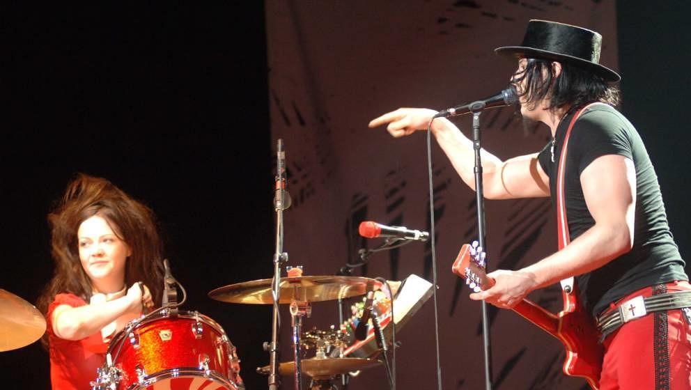 Vorst Nationaal - Brussel - Belgium - 30/10/2005The White Stripes, Jack White; Meg WhitePhoto gie Knaeps