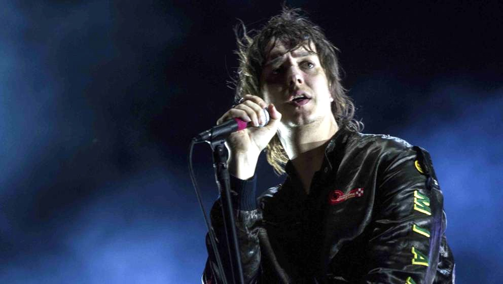 SAN ISIDRO, ARGENTINA - APRIL 01: Julian Casablancas of The Strokes performs on stage during day 2 as part of Lollapalooza Ar