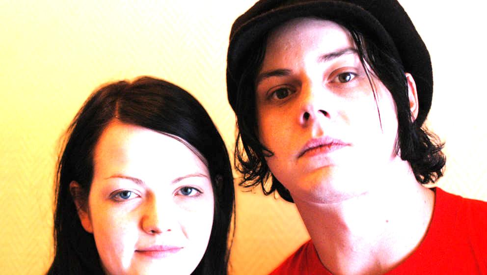 WHITE STRIPES , AMSTERDAM 01-2003. MEG & JACK WHITE.FOTO LEX VAN ROSSEN