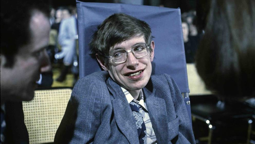 PRINCETON, NJ - OCTOBER 10:  Cosmologist Stephen Hawking on October 10, 1979 in Princeton, New Jersey. (Photo by Santi Visall