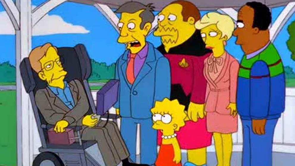 Stephen Hawking belehrt Springfield