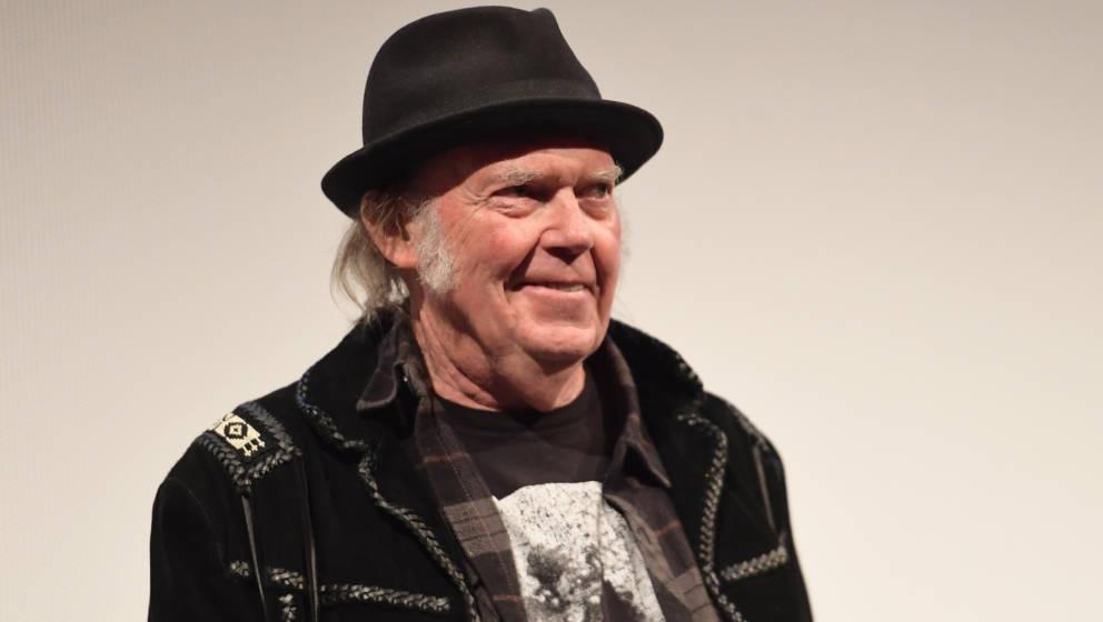 """Neil Young bei der Premiere für seinen neuen Film """"Paradox"""""""