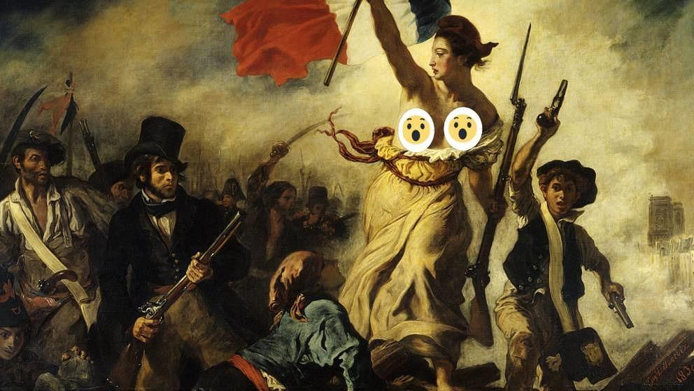 Eines der berühmtesten Gemälde der Welt - tauglich gemacht für Facebook
