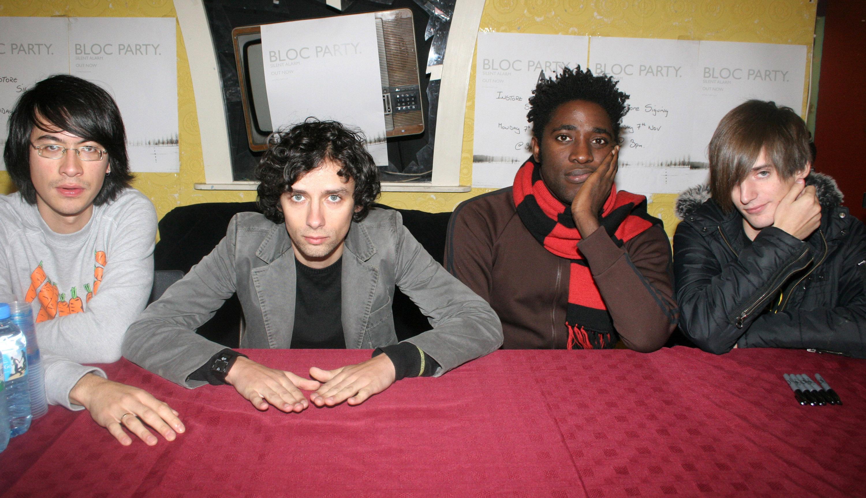 Bloc Party im Jahr 2005