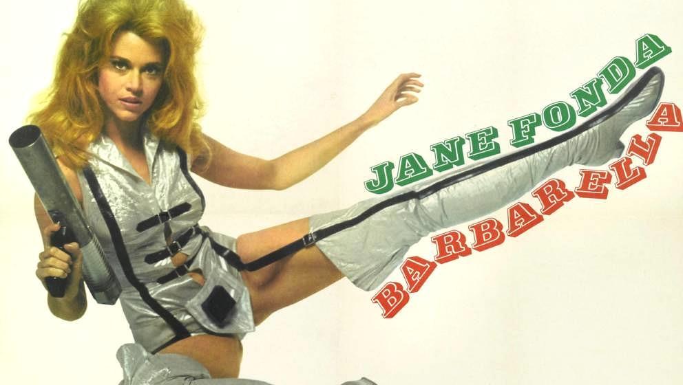 "Jane Fonda in ihrer Paraderolle: ""Barbarella"""