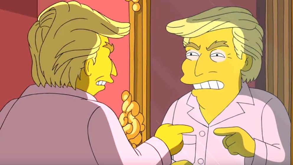 """Donald Trump wird mal wieder von den """"Simpsons"""" verspottet"""