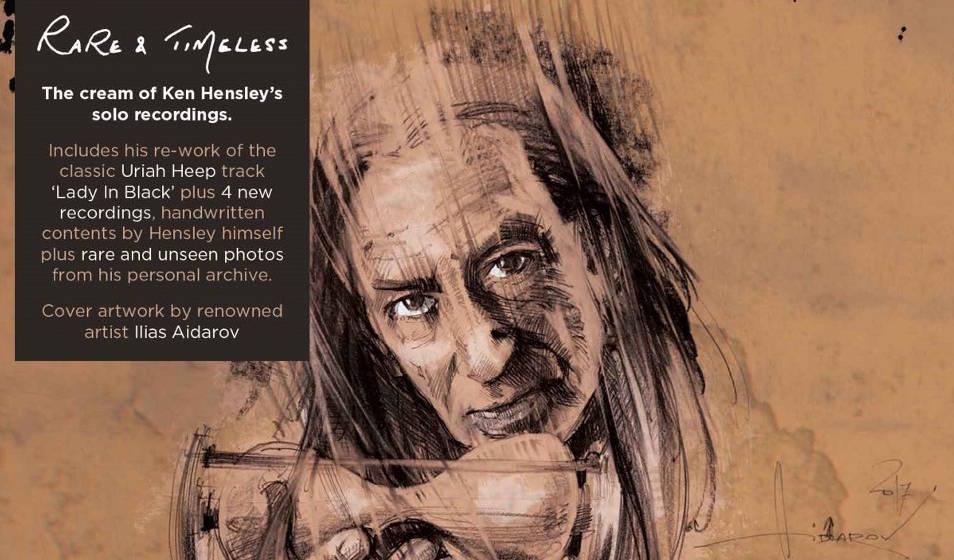 """Ken Hensley - """"Rare & Timeless"""""""