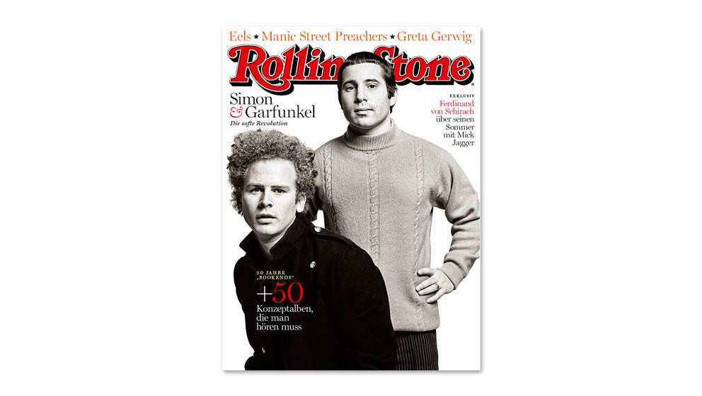Simon And Garfunkel sind Titelthema der April-Ausgabe des ROLLING STONE