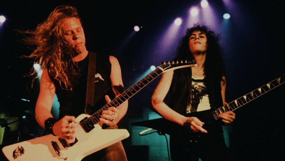 Metallica live in der Shibuya Public Hall in Tokio (1986)