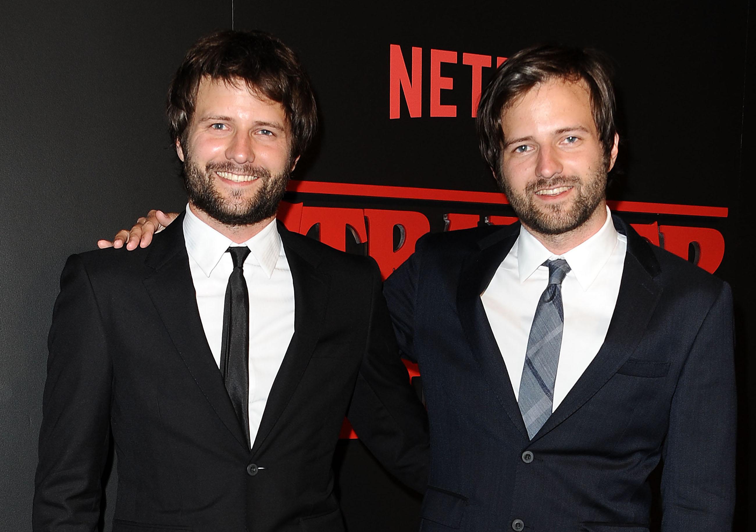 "Die Showrunner von ""Stranger Things"": Ross Duffer und Matt Duffer"