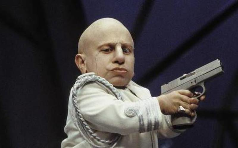 "Verne Troyer als Mini Me in ""Austin Powers"""