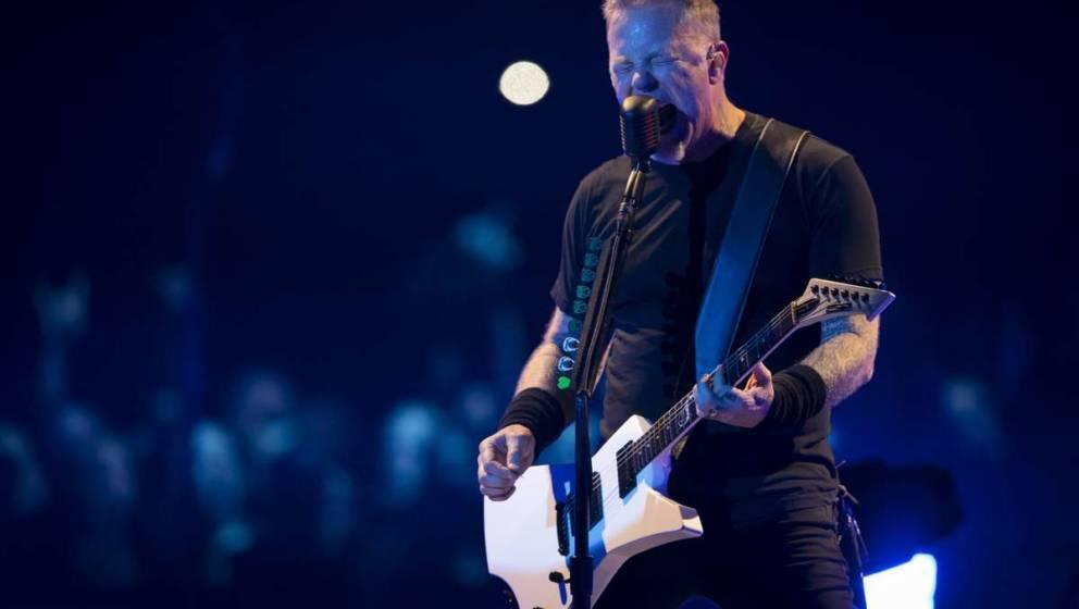 Metallica bei einer ihrer Live-Shows